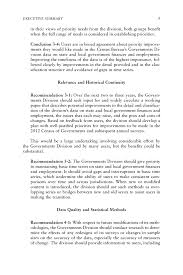 executive summary state and local government statistics at a