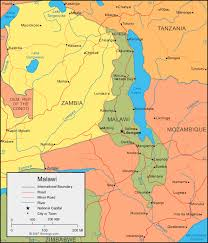 africa map malawi malawi map and satellite image