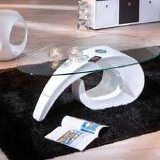White Modern Coffee Tables by A Stunning Contemporary Coffee Table One Loop Of Gloss Creates A