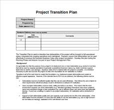business process transition plan template viplinkek info