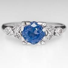 light blue sapphire engagement rings sapphire ring engagement polyvore