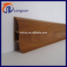 Skirting For Laminate Flooring Longsun Decorative Pvc Floor Skirting Board With Cable Channel