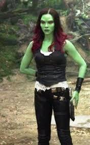 gamora costume guardians of the galaxy vol 2 gamora leather vest by zoe saldana