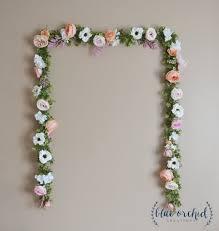 wedding backdrop of flowers wedding garland wedding backdrop flower garland flower
