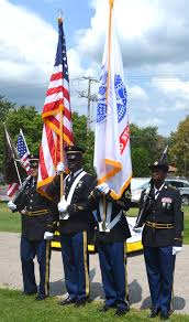 Bonnie Flag Rock Island Arsenal U0027s Senior Commander Speaks At Local Fair