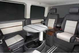 volkswagen van interior vw caravelle van rental munich airport