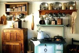 ustensile de cuisine vintage meuble de cuisine retro meuble cuisine cagne meuble de cuisine