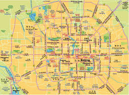 Beijing Map Beijing Subway Map 4 Maps Of Beijing
