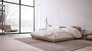 Home Interior Inspiration Interior Inspiring Minimalist Design With Low Profile Bed And