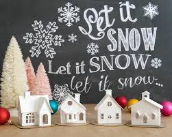 putz house christmas ornament diy kit putz village christmas