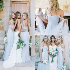 amsale wedding dresses for sale amsale 2017 gorgeous draped sky blue shoulder boho