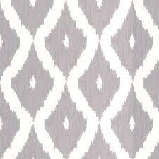 shop allen roth gray paper geometric wallpaper at lowes com