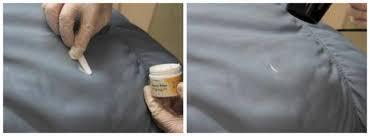 réparation canapé cuir déchiré comment réparer une déchirure ou un trou dans le cuir guide astuces
