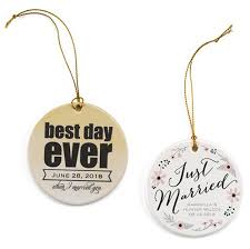 Personalized Wedding Ornament Personalized Wedding Ornament Vintage Wedding Favors Supplies