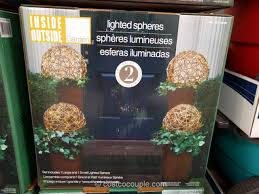 led lighted spheres