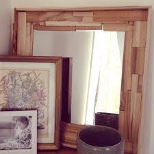 diy wood shim mirror woods diy wood and repurpose