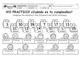 spanish basic worksheet pack greetings name age colours
