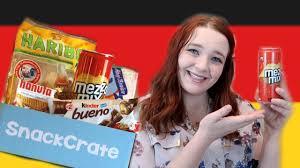 is lexus amanda mexican trying german snacks snackcrate youtube