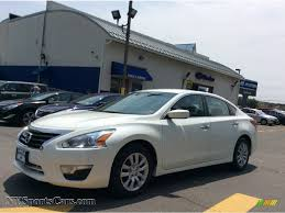 nissan altima 2013 new price 2013 nissan altima 2 5 s in pearl white 568194 nysportscars