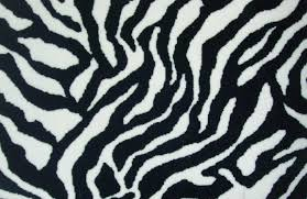 floor fetching cream zebra pattern velvet carpet on wooden steps