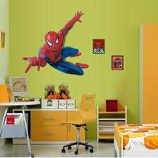 Superhero Home Decor 3d Home Decor Wall Stickers Wall Stickers Spiderman Superhero Boy