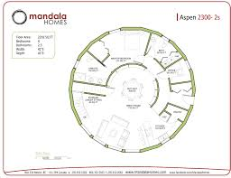 round homes floor plans aspen series floor plans mandala homes prefab round home
