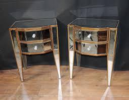 decorate around an antiqued mirrored nightstand u2014 new decoration