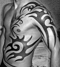 tribal arm to ribs designs tribal design ideas for