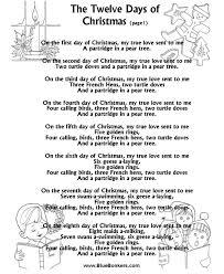 free printable christmas song lyric games bluebonkers the twelve days of christmas p1 free printable