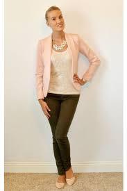 light pink blazer forever 21 olive green paige denim pants light pink forever 21 blazers