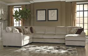 Sectional Chaise Benchcraft Hazes 4 Piece Sectional W Armless Sofa U0026 Right Chaise
