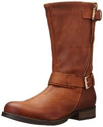female motorbike boots amazon com steve madden women u0027s kavilier motorcycle boot mid calf