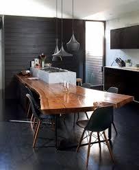 table cuisine bois massif table cuisine bois massif salle a manger blanche maison brut
