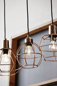 Hammered Copper Pendant Light Amazing Kitchen Hammered Copper Pendant Light Cage Regarding