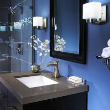 Blue And White Bathroom Accessories by Glamorous Grey And Blue Bathroom Decor Pics Design Ideas