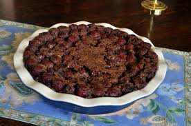 chocolate cherry clafoutis hungry again