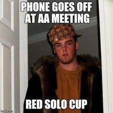 Red Solo Cup Meme - scumbag steve meme imgflip