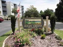 ocean greens in north myrtle beach 2 bedroom s condo townhouse