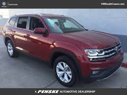 volkswagen atlas seating 2018 new volkswagen atlas 3 6l v6 se w technology fwd at