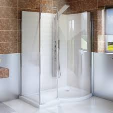 1400 Shower Door 1400 X 900 Right Walk In Enclosure With Shower Tray