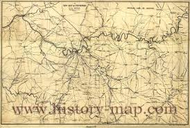 Map Tennessee In 1860 U0027s