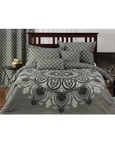 great deal on tahari king duvet cover set cotton floral medallion