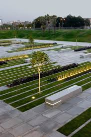 49 best los cerros landscaping images on pinterest landscaping 12 january 2011 bgu university entrance square and art gallery by chyutin architects stripes of paving plants and lighting form the entrance to ben gurion