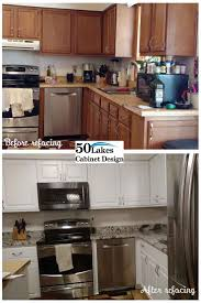 Refinish Kitchen Cabinets Before And After Best 20 Cabinet Refacing Ideas On Pinterest Diy Cabinet