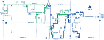 Map Of Florida Colleges by The City Of Dania Beach Community Bus Service City Of Dania