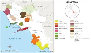 Italy Wine Regions Map by Aiosearch Italy Wineries Map
