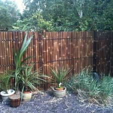 Home Depot Backyard Design Decor U0026 Tips Backyard Design With Bamboo Fencing And Rocks Also