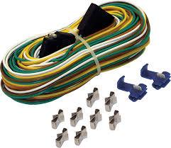amazon com shoreline marine 4 way trailer wire harness 25 feet
