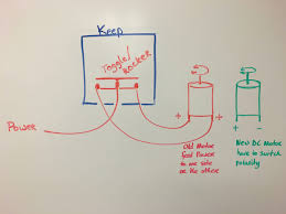 how to make a spdt toggle control a dc motor service techniques