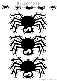 imagenes de halloween para imprimir y colorear plantilla araña halloween imprimir y recortar varis pinterest
